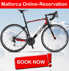 Online Reservation for Rental Bikes in Playa de Muro / Mallorca