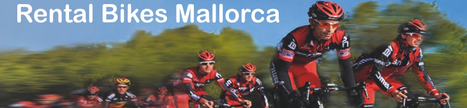 Rental Bike Overview in Mallorca from Radsalon BMC Pro Rent